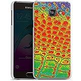 Samsung Galaxy A3 (2016) Housse Étui Protection Coque Peau de serpent Serpent Serpent