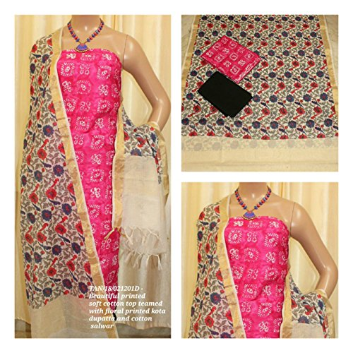 Avni Fashion New Beautiful Printed Soft Cotton Top teamed with elegant floral...