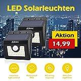 [30 LED] lampada di movimento senza fili del rivelatore solare,/pannello solare Motion Detector 3 Modalità intelligente efficiente/impermeabile IP65/Spot all'aperto per il giardino, scala esterna,