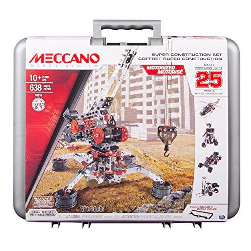 Meccano - 6032896 - Jeu de Construction - Mallette Super Construction