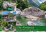 Der grüne Fluss (Wandkalender 2019 DIN A2 quer): Traumhafte Impressionen aus dem Verzascatal im Tessin (Monatskalender, 14 Seiten ) (CALVENDO Orte)