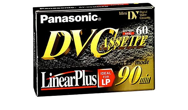 Panasonic Ay Dvm60 Ek Mini Dv Video Kassette Kamera