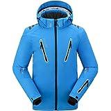 PELLIOT Chaqueta de Esquí Profesional para Hombre Abrigos de Invierno Chaqueta Cálida Impermeable