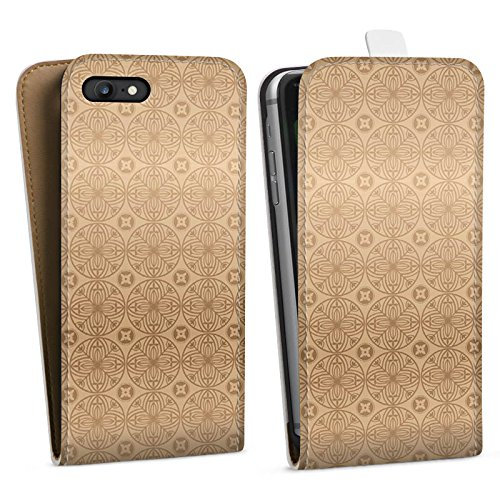 Apple iPhone X Silikon Hülle Case Schutzhülle Blume Flower Muster Downflip Tasche weiß