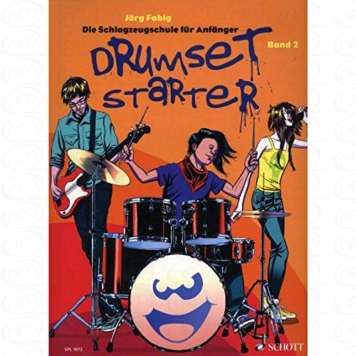 Drumset starter 2 - arrangiert für Schlagzeug - mit CD [Noten/Sheetmusic] Komponist : FABIG JOERG