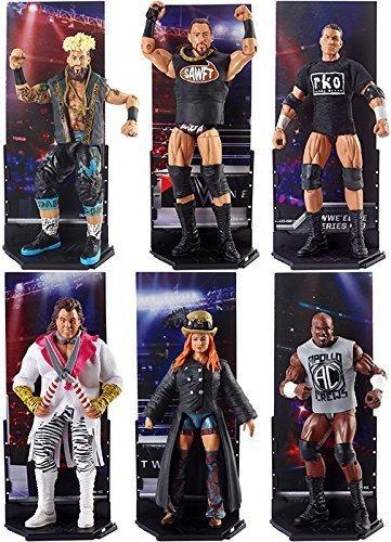 COMPLETO WWE Serie Elite 49 Acción Figura - ALL 6