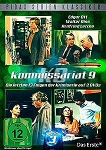 Kommissariat 9, Vol. 3 - Die letzten 13 Folgen der erfolgreichen Krimiserie (Pidax Serien-Klassiker) [2 DVDs]
