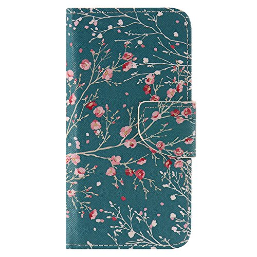 Nancen Compatible with Handyhülle LG K7 / LG Tribute 5 (5,0 Zoll) Handy Lederhülle, Flip Case Wallet Cover with Stand Function, Folio Bookstyle Handytasche (Lg Cover Handy Tribute)
