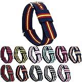 GEMONY NATO Strap Bracelet de Montre Nylon Watch Band Homme Femme Bracelet Boucle...