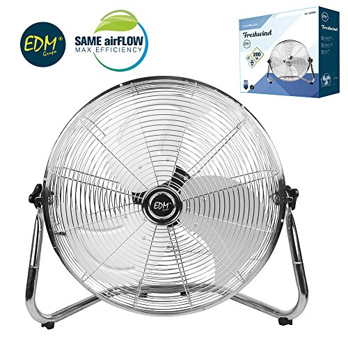 EDM Ventilador Industrial De Suelo 50CM 130W De Potencia.