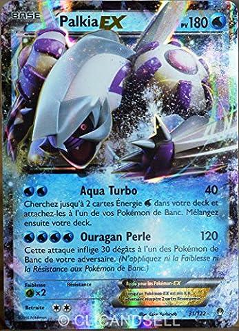carte Pokémon 31/122 Palkia Ex 180 PV XY - Rupture Turbo NEUF FR