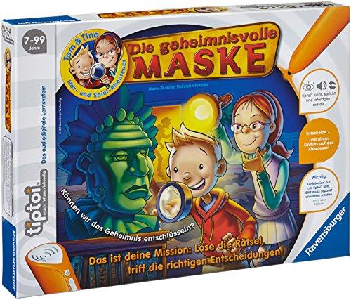Preisvergleich Produktbild Ravensburger 00520 - tiptoi®: Tom & Tina - Die geheimnnisvolle Maske (Ohne Stift)
