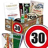 30. Geburtstag Geschenke für Männer Ostpakete - ECHTE MÄNNER Box + Geschenkverpackung
