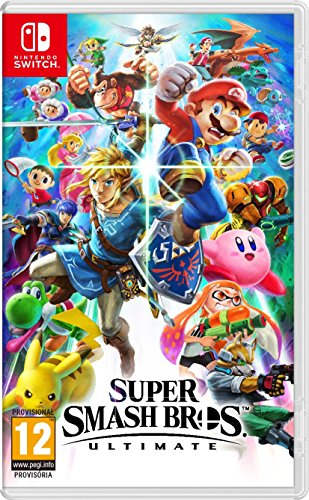 Super Smash Bros. Ultimate (Nintendo Switch) (precio: 53,90€)
