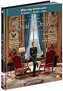 Quai d'Orsay [Combo Blu-ray + DVD - Édition Limitée Digibook]