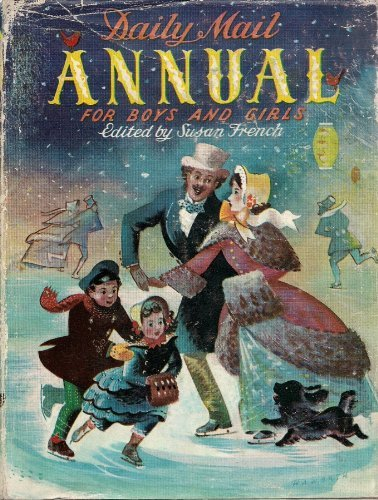 Daily Mail Annual For Boys And Girls 1952 Containing
