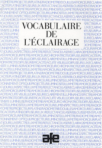 Vocabulaire de l'éclairage par AFE