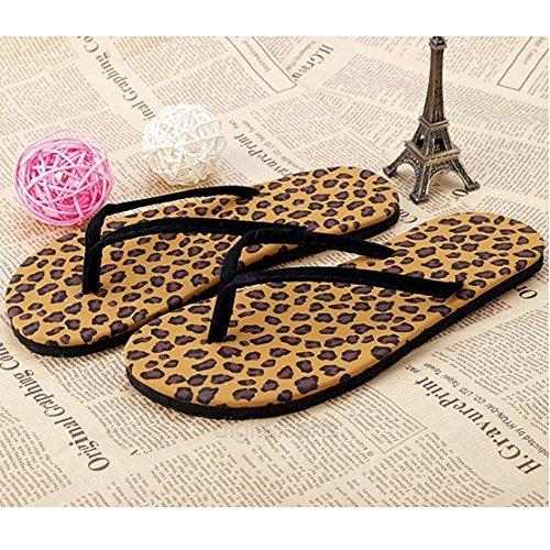 Moaeuro - Sandali  da ragazza' donna Leopard