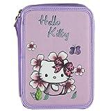 Target Hello Kitty Pencil Case Astuccio, 22 cm, Viola (Purple)