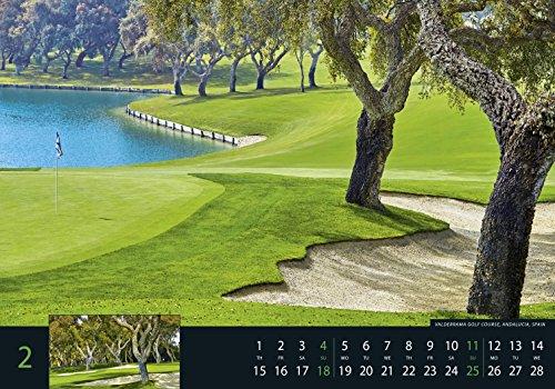 Golf 2018 - Sportkalender / Golfkalender international (49 x 34) - 4