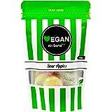 Vegan All Sorts Baby Mega Bags   Gluten Free Bubblegum Cola Bottles   Fizzy Sour Apples   Fizzy Blue Babies 100grams (Sour Ap