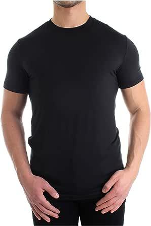 DSquared2 2-Pack Modal Stretch Crew-Neck Men's T-Shirts, Black