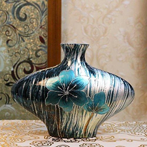 Europea vasi in ceramica in stile in stile americano vaso Wobble Set soggiorno Tatuaggi dipinto a mano la pittura Ingresso creativo decorazione , xxxxl