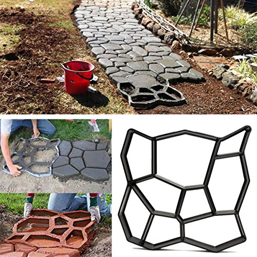 bluelover-45cm-bricolaje-jardn-plstico-path-maker-molde-manualmente-pavimento-cemento-ladrillo-piedr