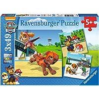 Ravensburger - 9239 - Lot de 3 Puzzles - Pat Patrouille - 49 pièces