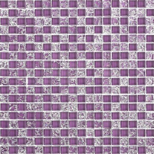 Mosaico Lilla Piastrelle Adesivo Piastrelle Immagine Bulls Bagno