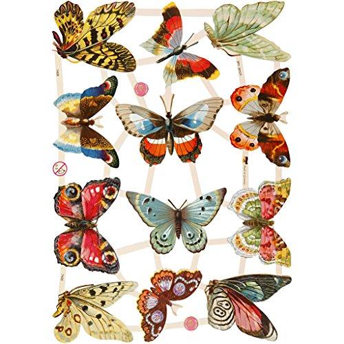 creativ-165-x-235-cm-butterflies-paper-vintage-die-cuts-3-sheet-multi-color