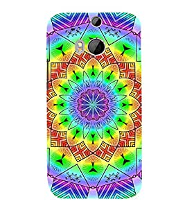 Fuson 3D Designer Back Case Cover For HTC One M8