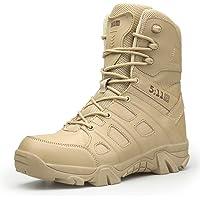 WOJIAO Bottes Militaires de Plein air pour Hommes Printemps et été Chaussures de randonnée Bottes de Neige Tactiques…