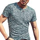 Butterme Summer Crew Neck Modal T-Shirt mit kurzen Ärmeln Classics Basic Shirt fur Männer Herren in Verschiedenen Farben