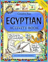 Egyptian Activity Book (Crafty History)
