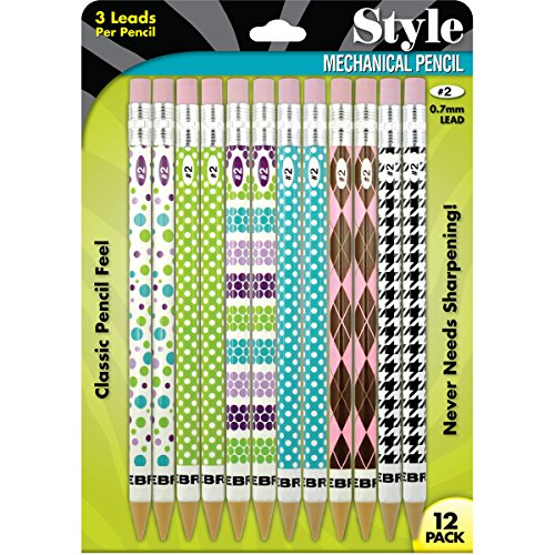 Cadoozles Mechanical Pencils 12/Pkg-Fashion -