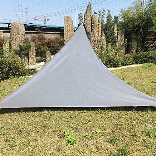Oshide Dreieck Sun Shade Segel Garten Terrasse Party Sonnencreme Markise Baldachin Sonnenschutz Pool Schatten Segel Markise Outdoor Camping Picknick Zelt (Baldachin Möbel)
