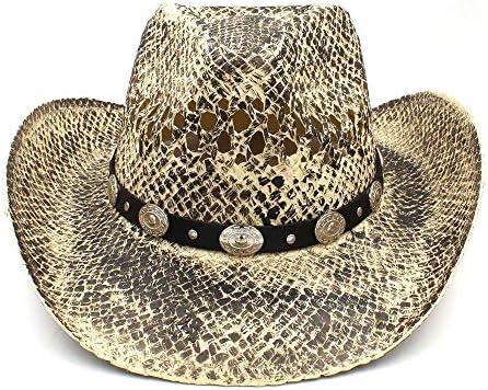 Shuo lan hu hu hu wai New Cappello da Cowboy Occidentale da Uomo di Paglia Cappello da Baseball di Cowgirl Sombrero Hombre Realizzato a Mano (Coloreee   Naturale, Dimensione   58 Centimetri)   acquistare    Eccezionale    prezzo al minuto  058a9e