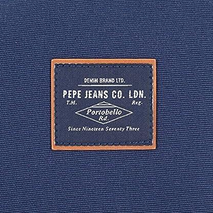 61SAnI9H0gL. SS416  - Pepe Jeans Cross Neceser de Viaje, 22 cm, 1.32 litros, Azul