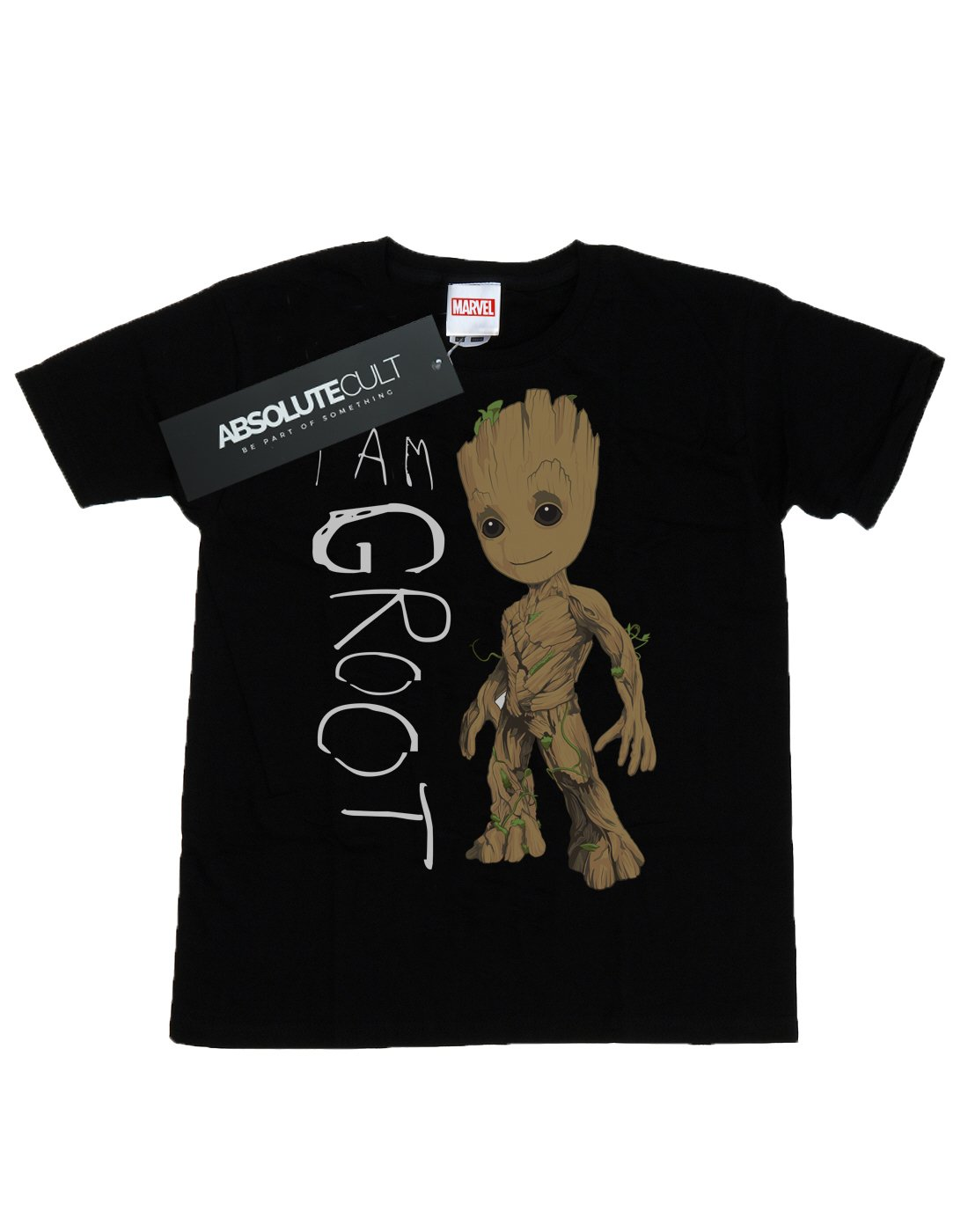 Marvel Uomo Guardians of the Galaxy I Am Groot Scribbles Maglietta 2 spesavip