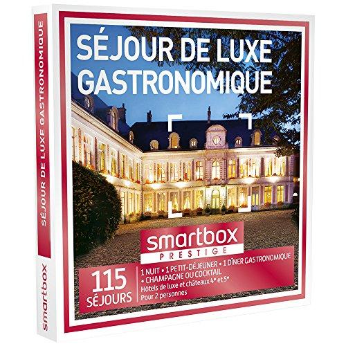 SMARTBOX - Coffret Cadeau - SÉJOUR GOURMET DE LUXE - 110 séjours : hôtels de luxe...