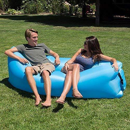 Tumbona hinchable – fuerte nailon Ripstop – sofá hinchable – sofá de...