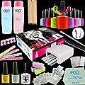 OFFICIAL CCO Gift Set UV Nail Gel Polish Varnish Professional Starter Kit UV Lamp Free Gel Present Gift Box