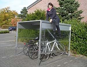 fahrradgarage sinomak bikeports f r 4 5 fahrr der garten. Black Bedroom Furniture Sets. Home Design Ideas