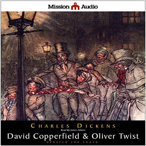 David Copperfield & Oliver Twist (Adapted for Young Listeners)  Audiolibri