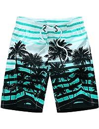 Quceyu Short de Bain Homme Bermuda Homme Séchage Rapide Shorts de Sport  Plage Grande Taille 545a1e10e59