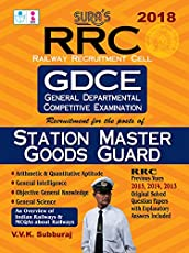 RRC (General Dept Competitive Exam) Station Master Goods Guard Exam Books 2018