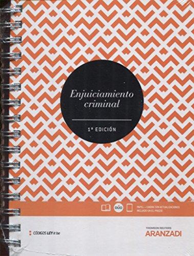 Enjuiciamiento Criminal (LeyItBe) (Papel + e-book) (Código Básico) por Departamento de Redacción Aranzadi