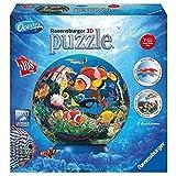 Ravensburger 12217-Kunterbunte Meereswelt-Puzzleball 108 Teile