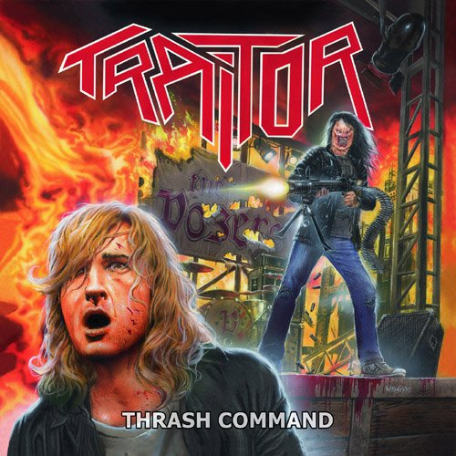 Traitor: Thrash Command & Live-Beyond the Command (Audio CD)